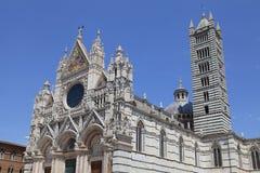 锡耶纳大教堂中央寺院二圣玛丽亚Assunta在锡耶纳,意大利 免版税库存照片