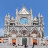 锡耶纳大教堂中央寺院二锡耶纳是中世纪教会,它是上午 免版税库存图片