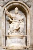 锡耶纳大教堂的庇护三世,锡耶纳,托斯卡纳,意大利 免版税库存照片
