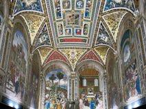 锡耶纳大教堂,意大利 图库摄影