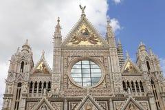 锡耶纳大教堂,托斯卡纳,锡耶纳,意大利 免版税图库摄影