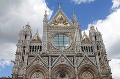 锡耶纳大教堂,托斯卡纳,锡耶纳,意大利 免版税库存照片