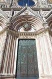 锡耶纳大教堂,托斯卡纳,锡耶纳,意大利 免版税库存图片