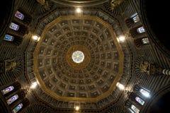 锡耶纳大教堂,锡耶纳,托斯卡纳,意大利 图库摄影