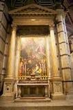 锡耶纳大教堂,锡耶纳,托斯卡纳,意大利 库存图片