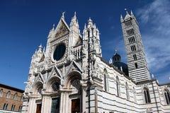 锡耶纳意大利大教堂 免版税图库摄影
