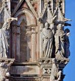 锡耶纳托斯卡纳意大利中央寺院 免版税库存照片