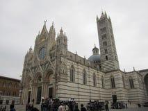 锡耶纳的大教堂 库存图片