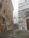 锡耶纳,大教堂 免版税库存照片