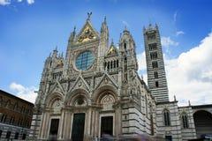 锡耶纳,托斯卡纳,意大利中央寺院  库存图片