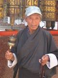 锡金当地人民在镇,甘托克市,锡金印度,第16个A里 库存图片