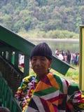 锡金西藏人地方妇女在村庄,甘托克Ci工作 免版税图库摄影