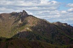 锡霍特山脉南部的岩石范围 免版税库存照片