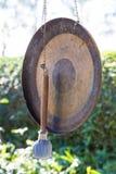 锤子和锣 库存照片