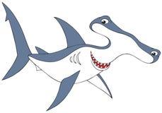 锤子朝向鲨鱼 免版税库存图片