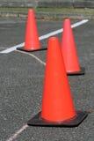锥体安全性业务量 库存照片