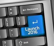 键盘例证发射2016年 皇族释放例证