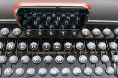 键盘和巧妙的电话 免版税库存照片
