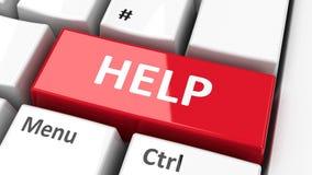 键盘帮助 向量例证
