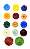 键盘样式五颜六色的按钮 免版税库存照片