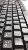 键盘泰国黑背景纹理 库存图片