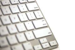 键盘特写镜头5 库存图片