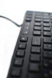 键盘特写镜头 免版税库存图片