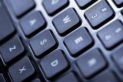 键盘的特写镜头 图库摄影
