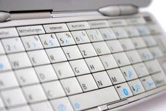 键盘移动电话 库存照片