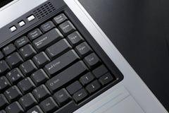 键盘膝上型计算机 免版税库存照片