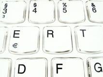 键盘计算机 免版税库存照片
