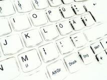 键盘计算机 库存图片
