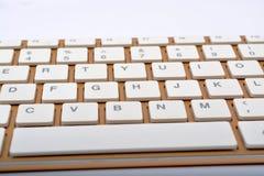 键盘键特写镜头现代设计 免版税库存照片