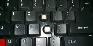 键盘键的图片 免版税库存照片