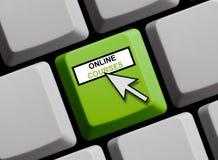 键盘:网上路线 皇族释放例证