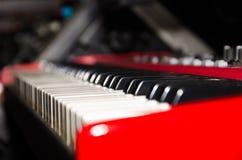 键盘细节 免版税库存照片