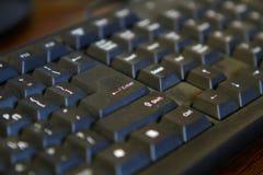 黑键盘 库存图片