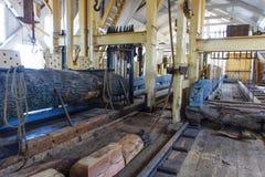 锯木厂 图库摄影