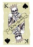 锹的国王 免版税库存图片