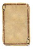 锹纸牌难看的东西空的一点使用了背景 库存照片