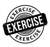 锻炼不加考虑表赞同的人 免版税库存图片