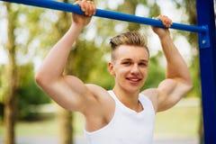 锻炼运动员 库存图片