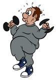 锻炼 向量例证