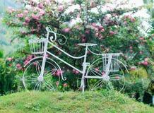 锻铁自行车 库存图片