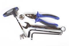 镀铬物和钒工具 免版税图库摄影
