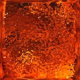 镀铬物纹理 红色火焰 图库摄影