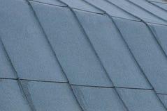 镀锌层灰色金属纹理在屋顶的 免版税库存照片