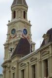 镇和周年纪念霍尔, Fremantle,澳大利亚 免版税库存图片