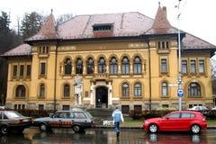 镇图书馆在布拉索夫 库存照片