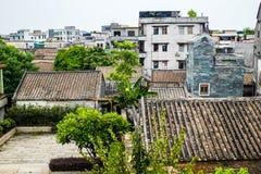 镇在中国 库存图片